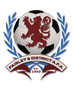 Paisley &amp; District AFA sponsored by Five on 5