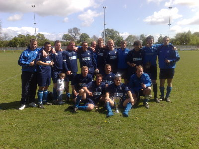 Crossflatts Village Invitation Cup Winners 2008/09