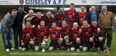 Hockney FC Wharfedale District Cup Winners
