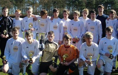 St Jons UNDER16'S FIFE CUP WINNERS SEASON 08/09 MARCH 2009