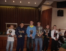 "Captains of League winners from Presentation 2009 Condorrat Yellow 13's ""A"" Div, Sunderland 13's ""B"" Div Bellshill 14's Cumbernauld Utd 15's ""B"" DIv E DThistle 17's Townhead 19's"