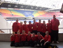 CKYL 13s League Select 2007/8 at the Amsterdam Arena during their trip to Holland In May 2008.