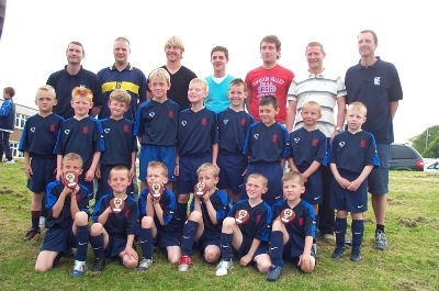 KSC All Stars 97's Fair Play Winners 2005/06