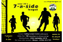 Shapla Over 35's 7-a-side League