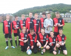 Dunoon YFL u16s League Cup Winners 2010-11