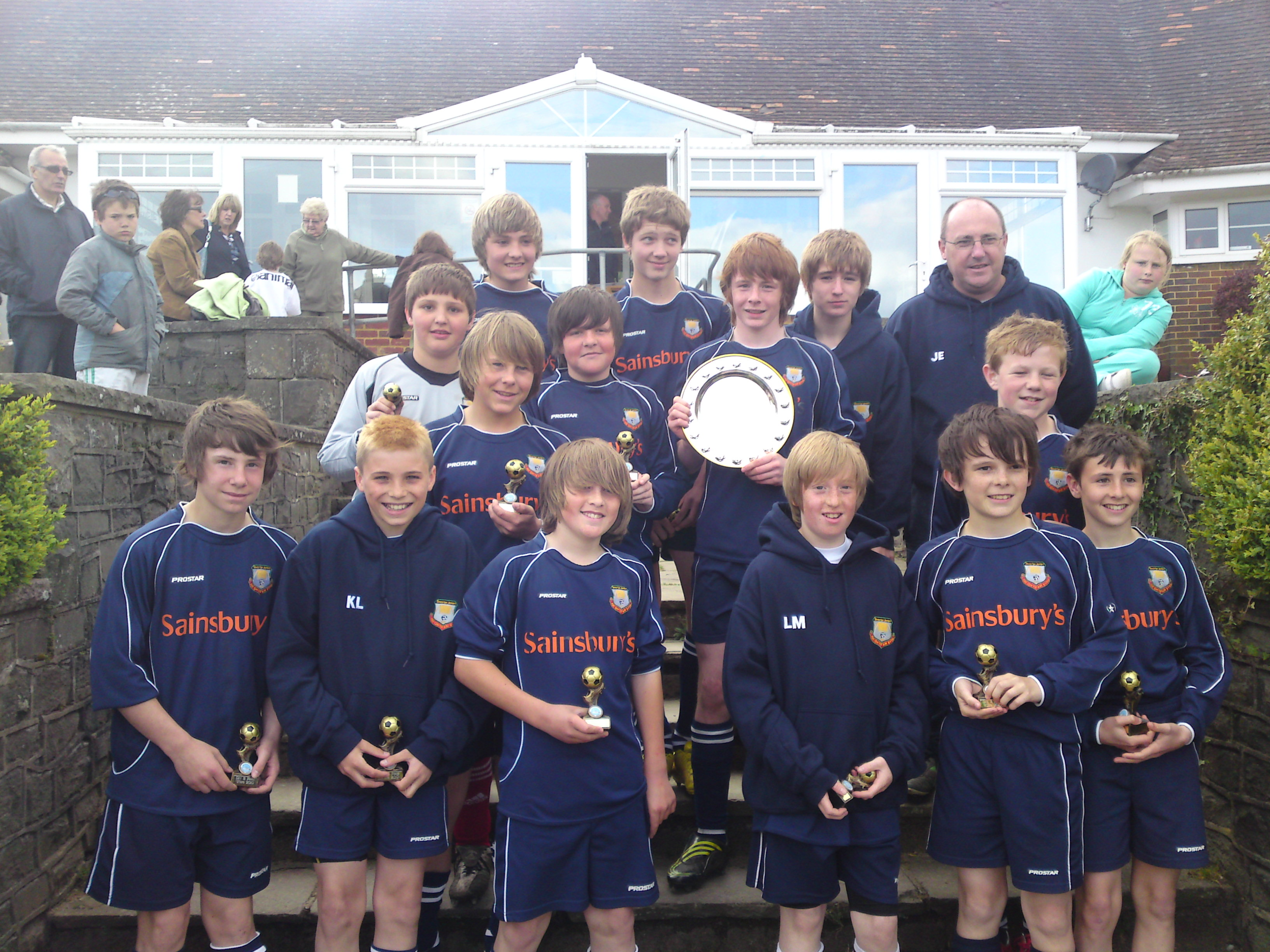 2010 U13 Plate Winners - Gowerton Juniors
