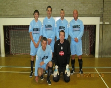 Keltec Trophies winners of Mayflower 5 A Side Div 2 2009/10