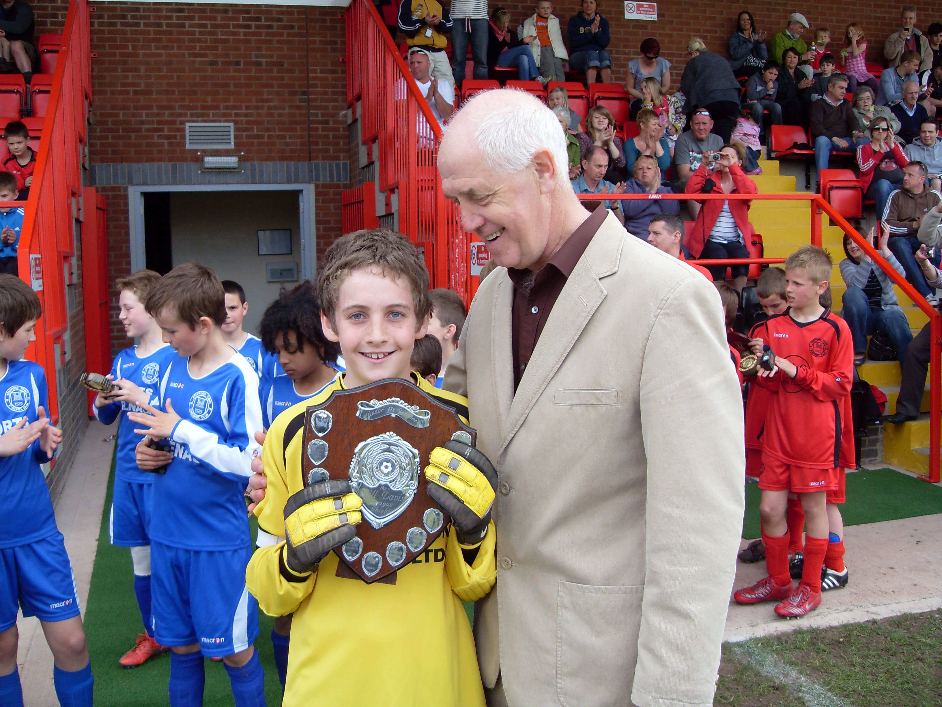 Under 11s Stafford Town Panthers shield winners