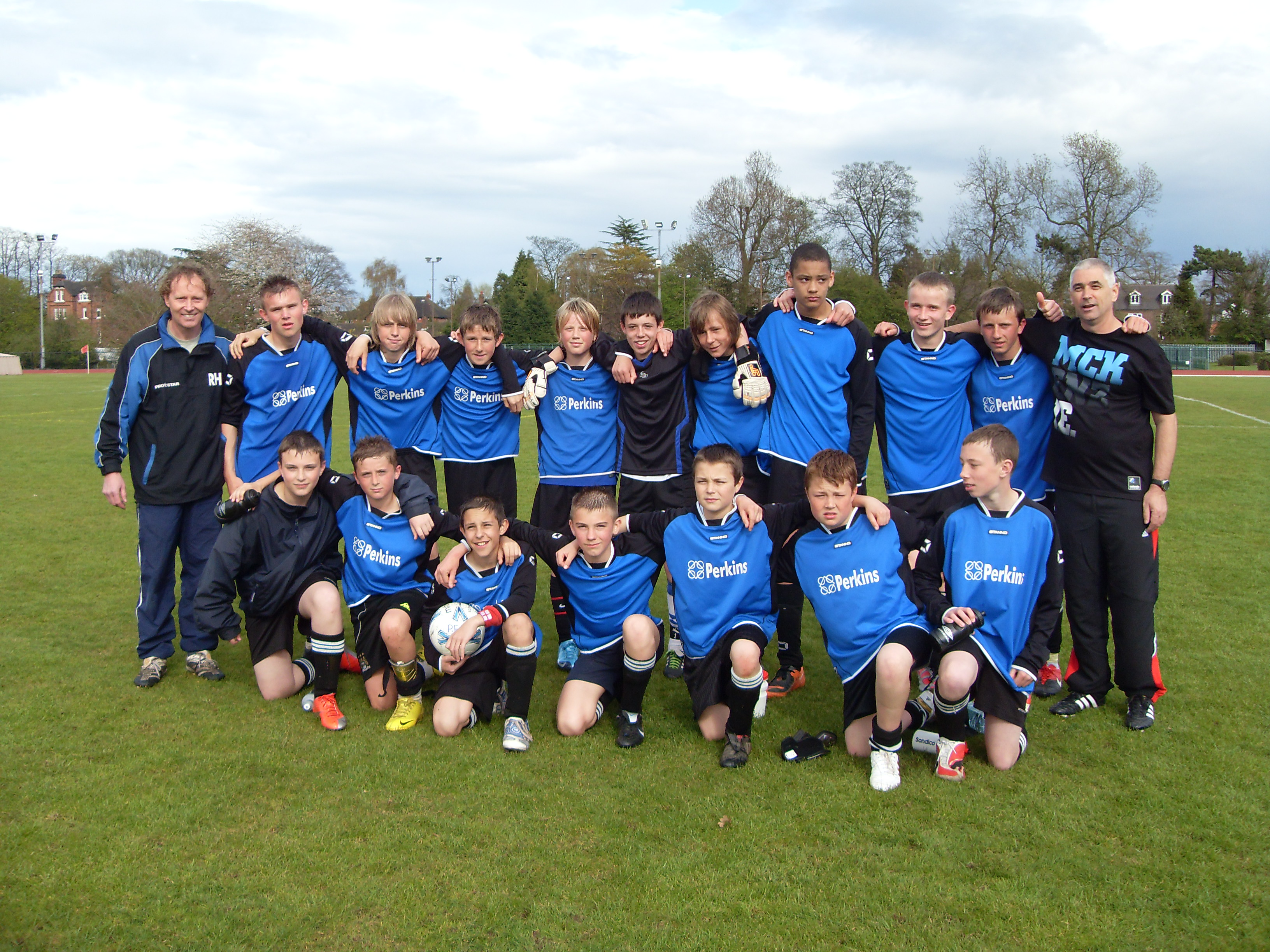 Perkins Fc Under 14s Cup Runners up 2010
