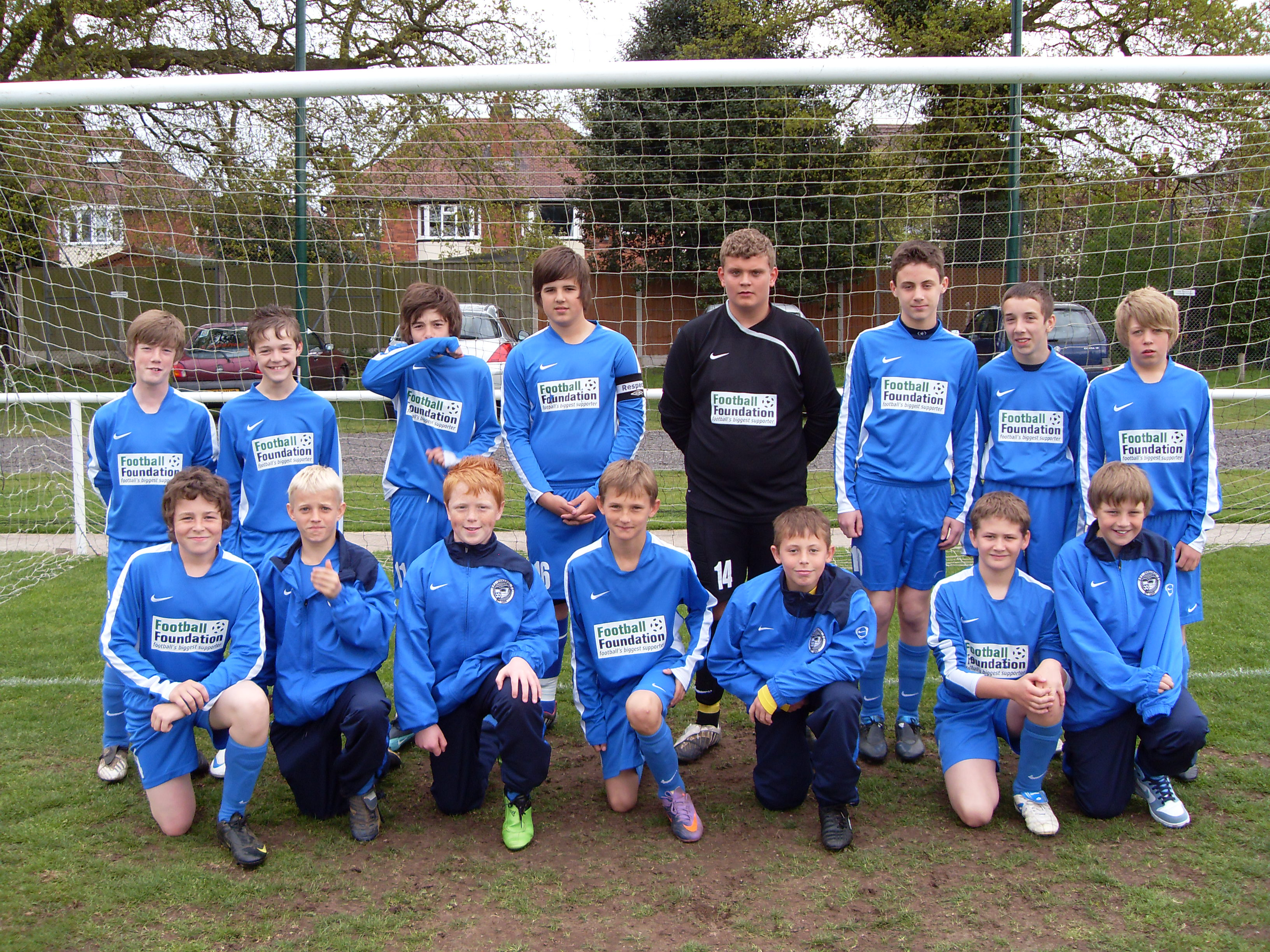 Rugeley PS Dynamos winners under 13s League Shield 2010