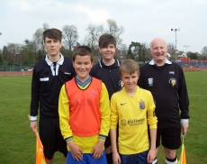 match refs under 12s shield final with eccle& Penk Jun