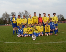 Penkridge Juniors under 12s shield runners up