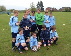 Stafford Soccer School Runners Up Under 13s League Shield