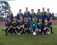 Rugeley Rangers under 14s Shield Winners 2009/10