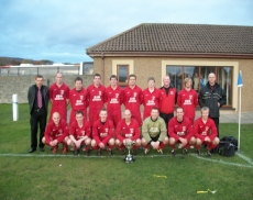 Thurso FC - North Caledonian Cup winners for 2010/11