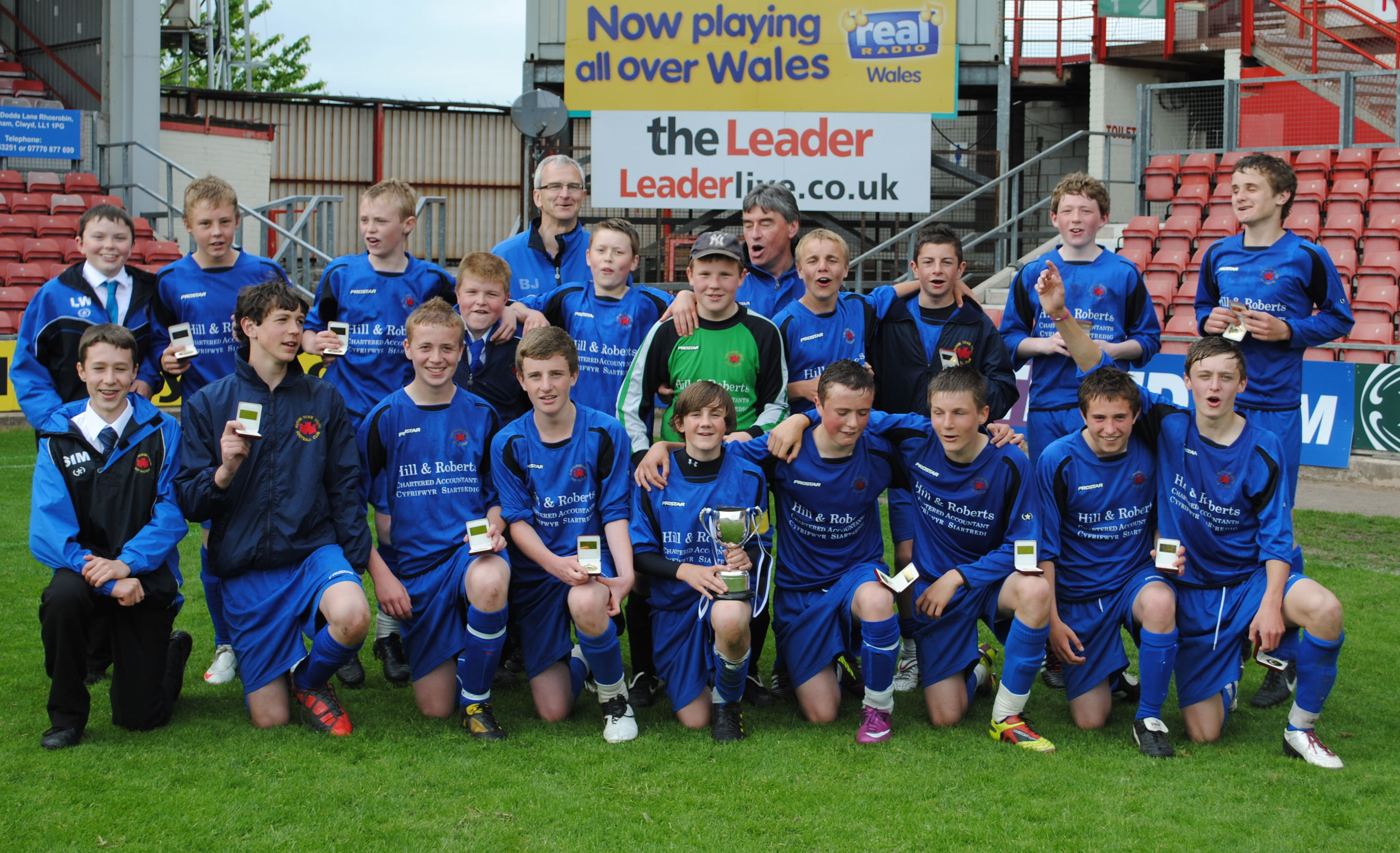 Ruthin Town U14s Winners
